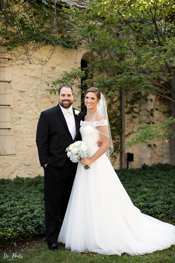 Amber Danek Anderson, H Sci '11, Grad '14, and Jim Anderson, Law '14